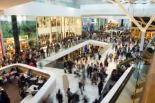 Aglomeratie la mall
