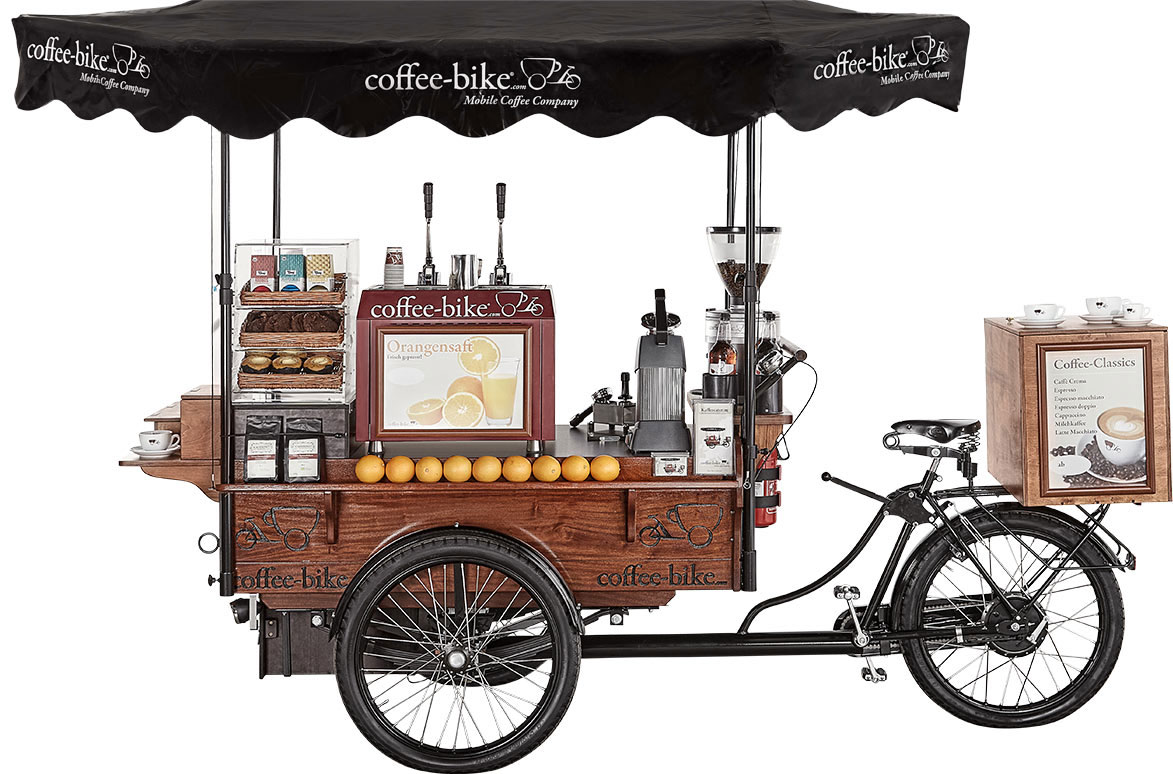 Franciza Coffee Bike