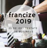 Francize 2019: idei de afaceri testate