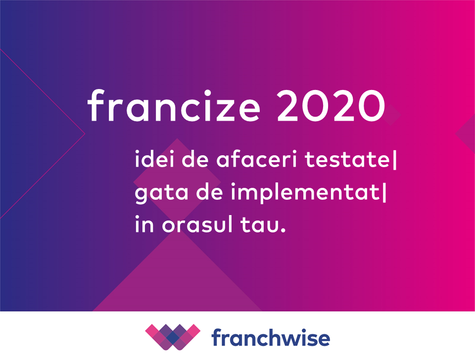 Francize 2020 - idei de afaceri testate, gata de implementat, in orasul tau