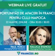 Webinar gratuit: Oportunitati de afaceri in franciza pentru Cluj-Napoca