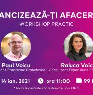 Francizeaza-ti afacerea – Workshop Practic