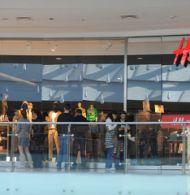 Magazinul H&M din AFI Palace Cotroceni, cel mai mare din România